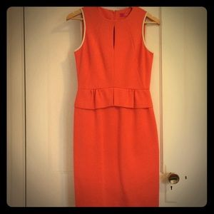 Catherine MaLandring coral dress